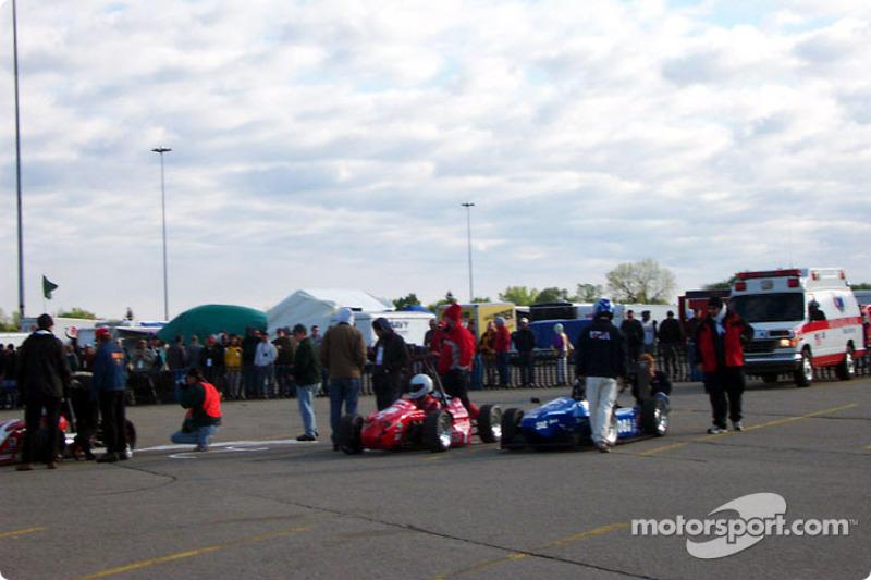 Fast cars grid