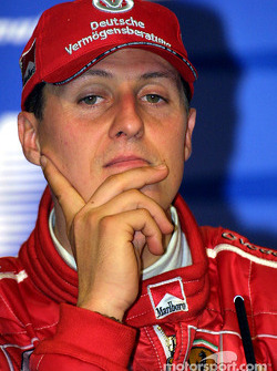 Winners' press conference: Michael Schumacher