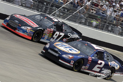 Kurt Busch and Rusty Wallace