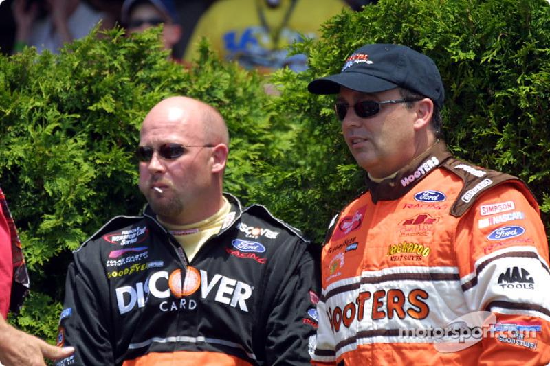 Brett and Todd Bodine