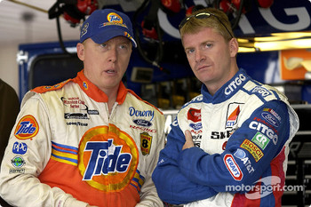 Ricky Craven and Jeff Burton
