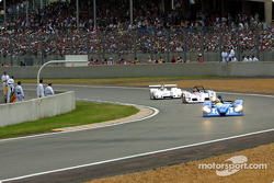 First lap: the rest of the field