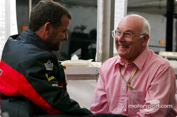 Paul Stoddart and Murray Walker