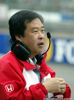 Honda race engineer