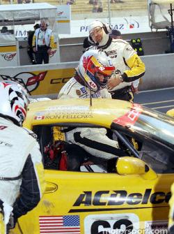 Pitstop at Corvette Racing