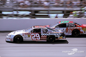 Kevin Harvick and Jeremy Mayfield