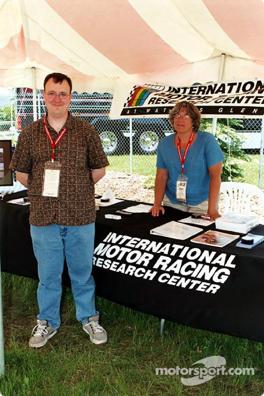 Mark and Glenda of the IMRRC
