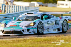 Chris Bingham captured the pole position for the GTS class in the #5 Saleen S7R