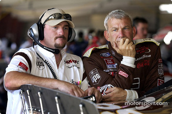 Crew chief Todd Parrott and Dale Jarrett
