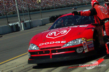 Pitstop for Bill Elliott