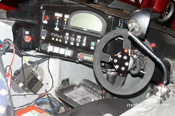 Cockpit of Nissan-powered Pilbeam