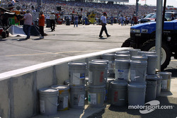 RIR expected to have to paint the wall after the Busch race