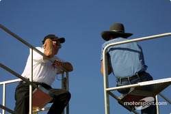 Leonard Wood with Richard Petty