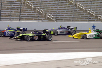 Ed Carpenter, G.J. Mennon, Aaron Fike, Gary Petersen