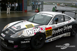 Porsche 911 GT3R, Hideshi Matsud, Adam Wilcox