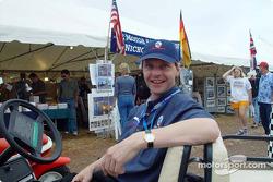 Panoz Motor Sports team member