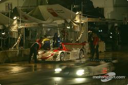 Audi pit area