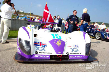 R.N. Motorsports Reynard 02S on the grid