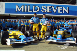 Family picture for Team Renault F1
