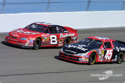 Dale Earnhardt Jr. and Kyle Petty