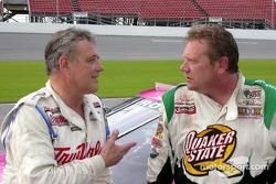 Jim Sauter and Steve Kinser