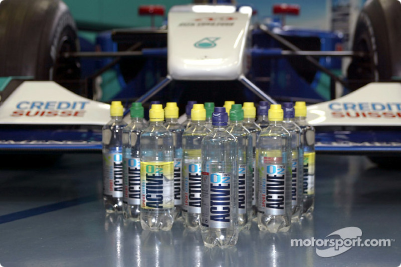 Active O2 bottles
