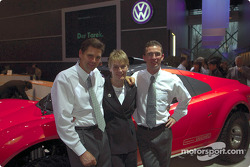 Volkswagen Tarek World debut at the Essen Motor Show: Stéphane Henrard, Jutta Kleinschmidt and Dieter Depping