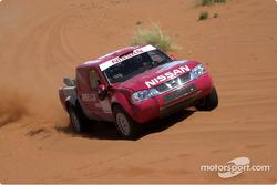 Nissan Rally Raid Team launch: Nissan Pickup