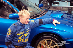 Solberg showing the STi