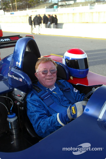 Don Panoz at the wheel of his own race winning
