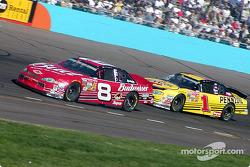 Dale Earnhardt Jr. and Steve Park