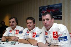 Citroën Sport présentation: Carlos Sainz, Sébastien Loeb and Colin McRae