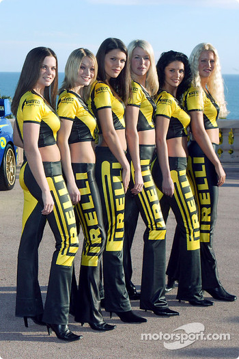 The Pirelli girls