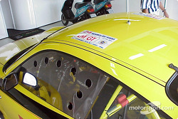 This car ran in the 24 Hours of Le Mans in 2002