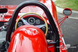 Maserati Birdcage cockpit view
