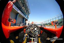 Inside the Ferrari