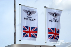 Team Bentley flags