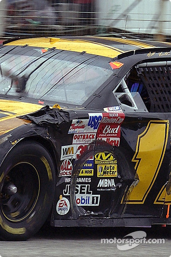 Marks on Matt Kenseth's car