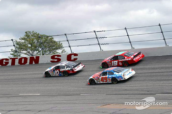 Johnny Benson, Jeremy Mayfield and Ken Schrader