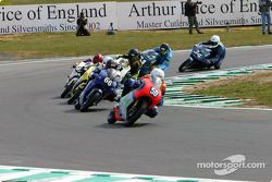 Eugene Laverty leads the field