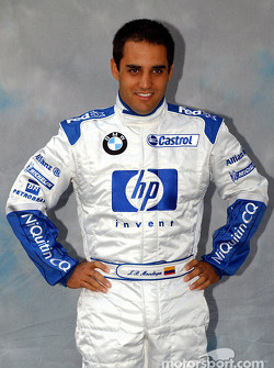 Photoshoot for Juan Pablo Montoya