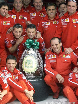 Happy Easter from Team Ferrari
