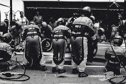 Pitstop at Renault F1