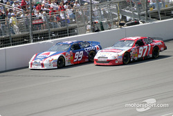 Jeff Burton and Kurt Busch
