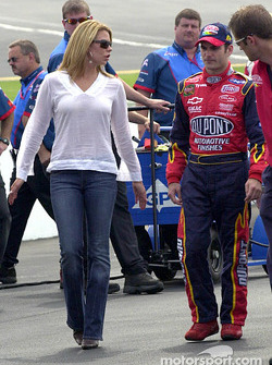 Jeff Gordon and Amanda
