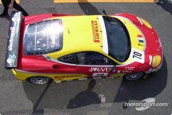 #70 JMB Racing Ferrari 360 Modena: David Terrien, Fabrizio de Simone