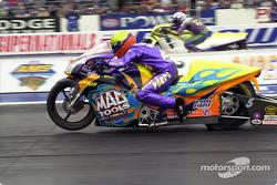 Shawn Gann dominated Pro Stock Bike