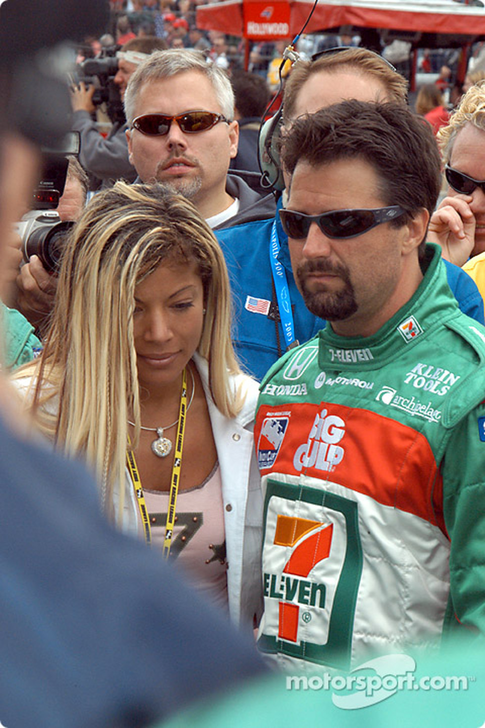 Michael Andretti with wife Leslie