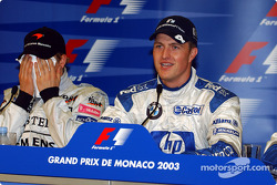 Press conference: pole winner Ralf Schumacher with Kimi Raikkonen