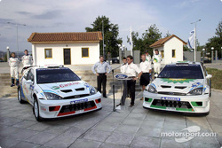Ford Rallysport unveil their new liveries